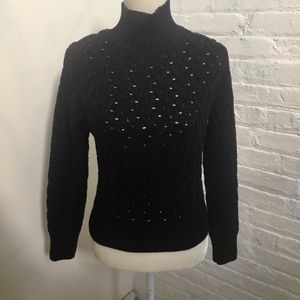 Women's Zara Chunky Knit Turtle Neck Sweater